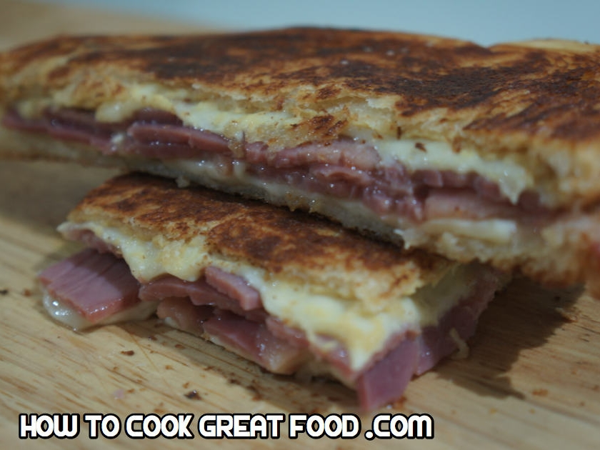 How To Cook Great Food - HTCG grilled cheese sandwich recipe - beef mustard