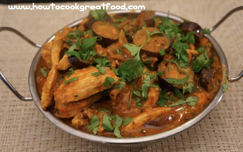 Chicken breast eggplant recipe